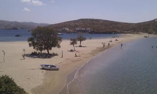 kolona beach, kythnos