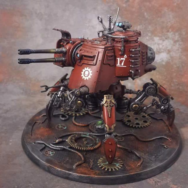 I found this awesome model painted by technomartyr on the Games Workshop web store.