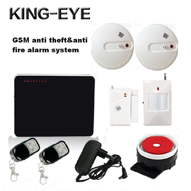 (58.23$)  Buy here  - 433 MHz CE FCC RoHS Russian voice prompt GSM home security alarm system anti theft alarm anti fire alarm PIR motion sensor