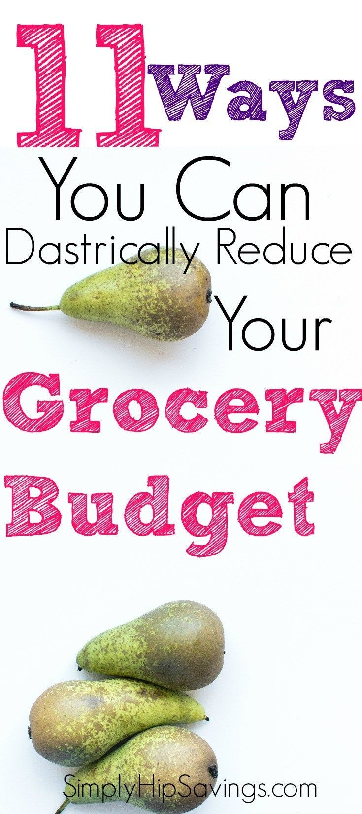 Proven ways to save on groceries! Check out these proven strategies to save on your groceries. Click to read more and remember to save for others to enjoy. www.simplyhipsavings.com
