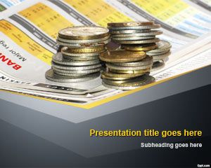 Business Cash Money PowerPoint Template
