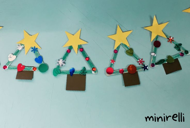 December is fast approaching so we better start making some Christmas crafts to decorate the classroom with! You may need: Craft sticks Green pen or crayon Yellow A4 paper Brown A4 paper Sequins PV…