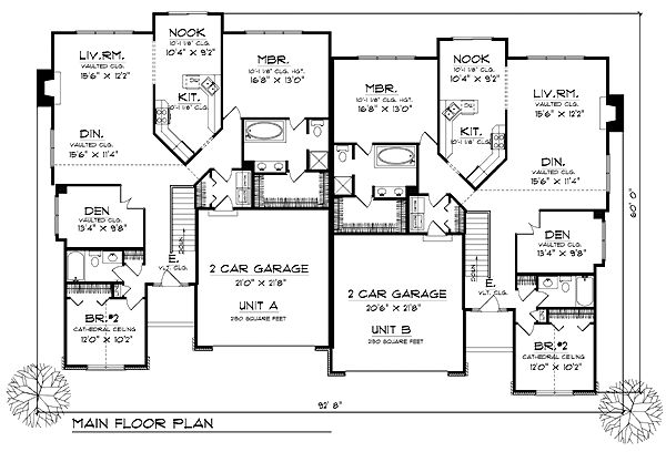 24 best images about multiple family house plans on