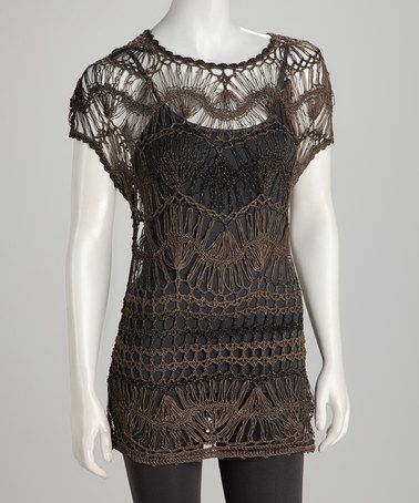Take a look at this Willow Crochet Tunic by Dolce Cabo on #zulily today!