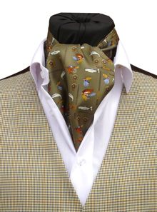 WWW.TOMSAWYERWAISTCOATS.CO.UK - Neckwear Online How to tie a Cravat Buy UK