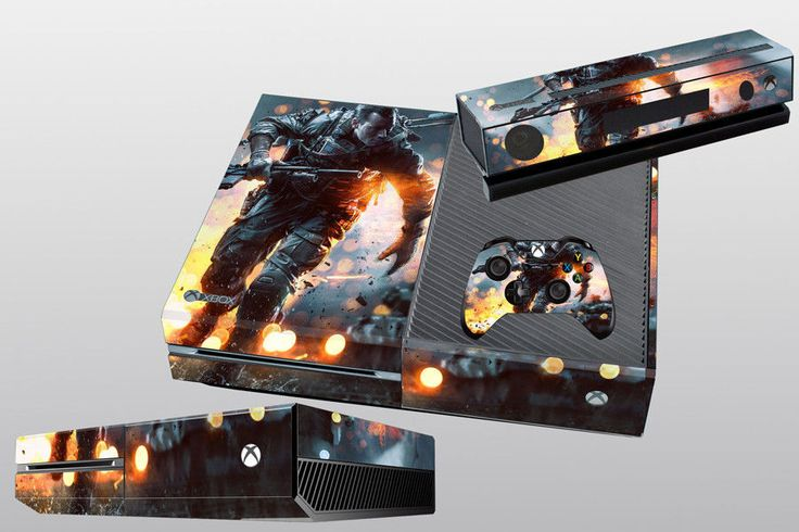 Pop Gift Awesome Custom Sticker for X BOX One Console + Controller Skins Covers #UnbrandedGeneric