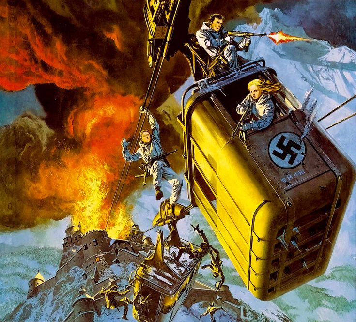 Where Eagles Dare - Great World War II rescue movie