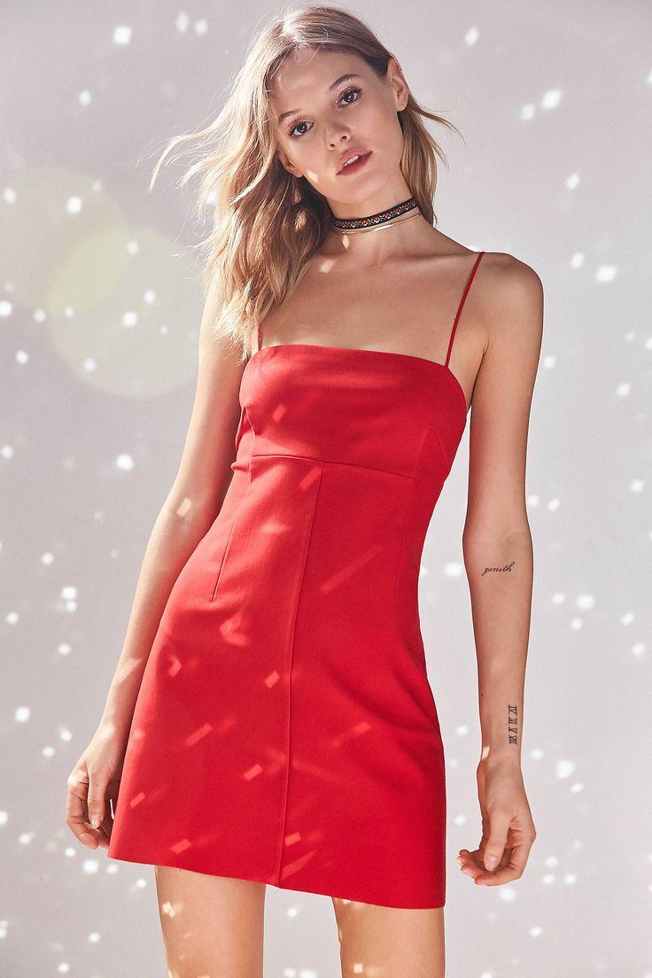 Audrey 3+1 Red Slip Dress from Miami by Nurbana 305