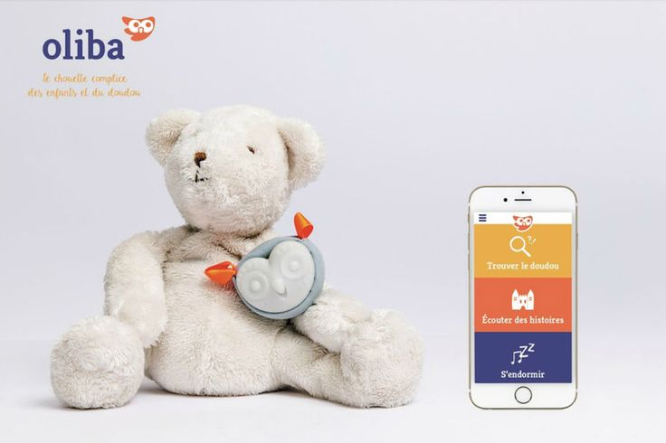 With OLIBA, don't lose the teddy of your kid anymore. It also sing songs and tells stories.
