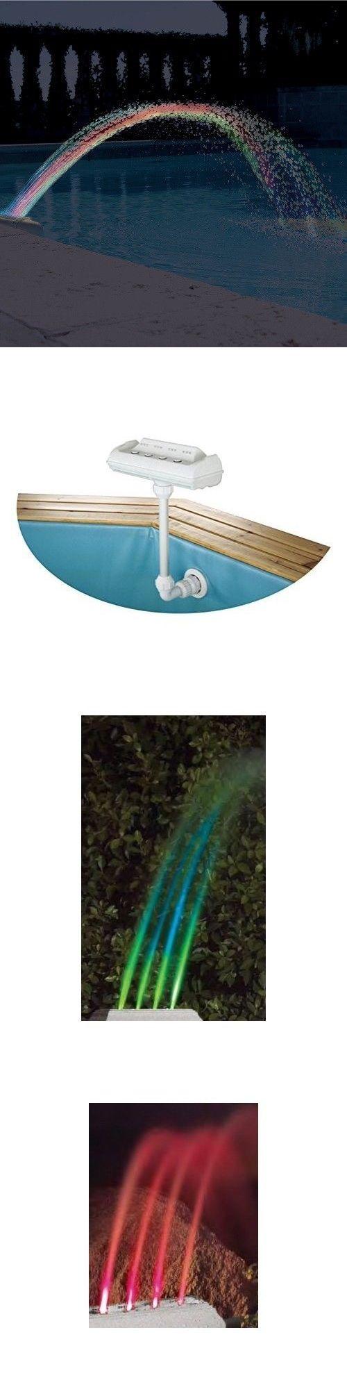 Best 25 above ground pool lights ideas on pinterest for Floating deck around above ground pool
