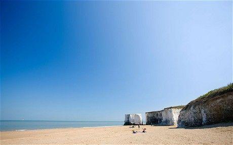Britain's 20 best beaches - Telegraph. Botany Bay, Kent.