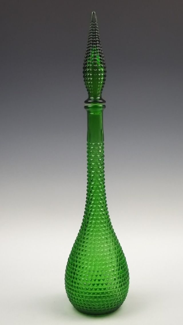 23 best images about genie bottles on pinterest glass for Retro glass bottles