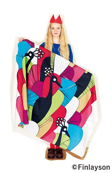 Fashion collection[ファッションコレクション]|北欧で愛されるテキスタイル たっぷりサイズのフィンレイソン デザインファブリックの会(6回限定コレクション)|フェリシモ