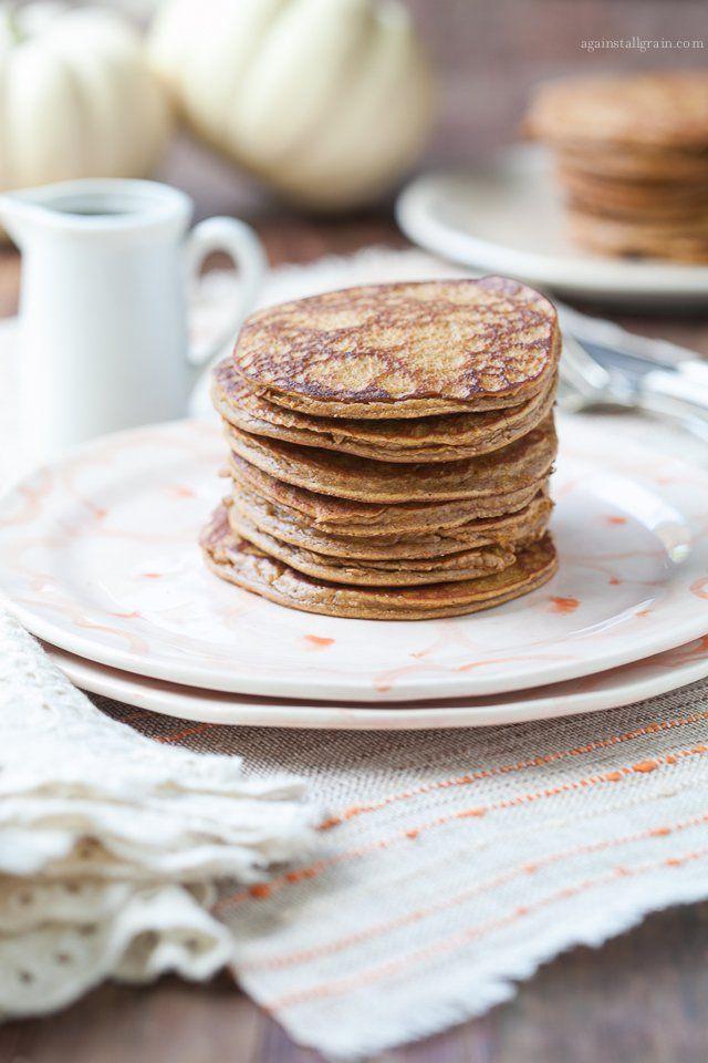Paleo Pumpkin Pancakes, Bacon Pecans, Paleo Spices, Gluten Fre Pumpkin ...
