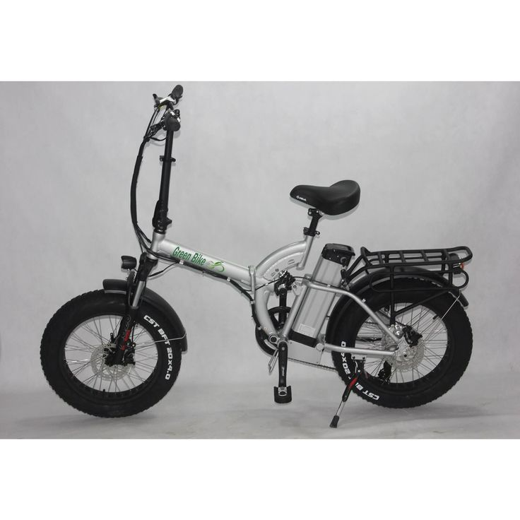 Green Bike USA GB500 Fat Tire 500W 48V Folding Electric Bike