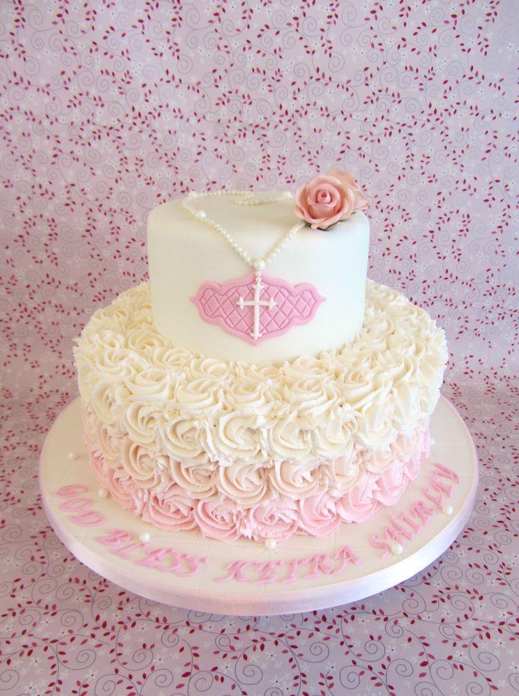 Beautiful Christening / Baptism Cake