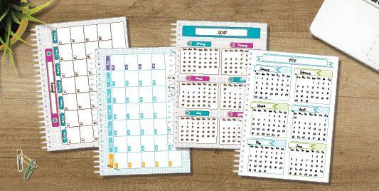 Personalised Diaries, Planners & Organisers