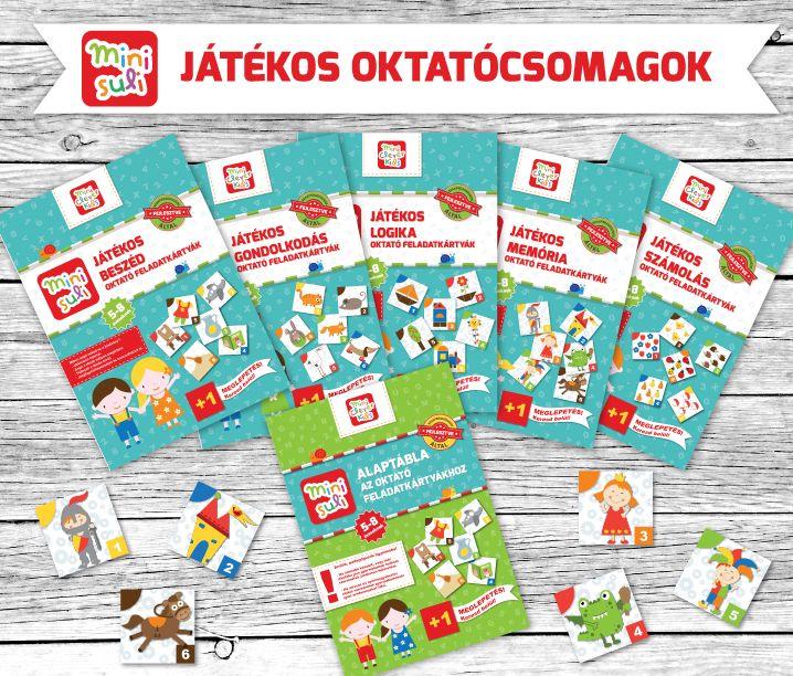 Mini Suli oktató feladatkártyák www.okosovisok.hu
