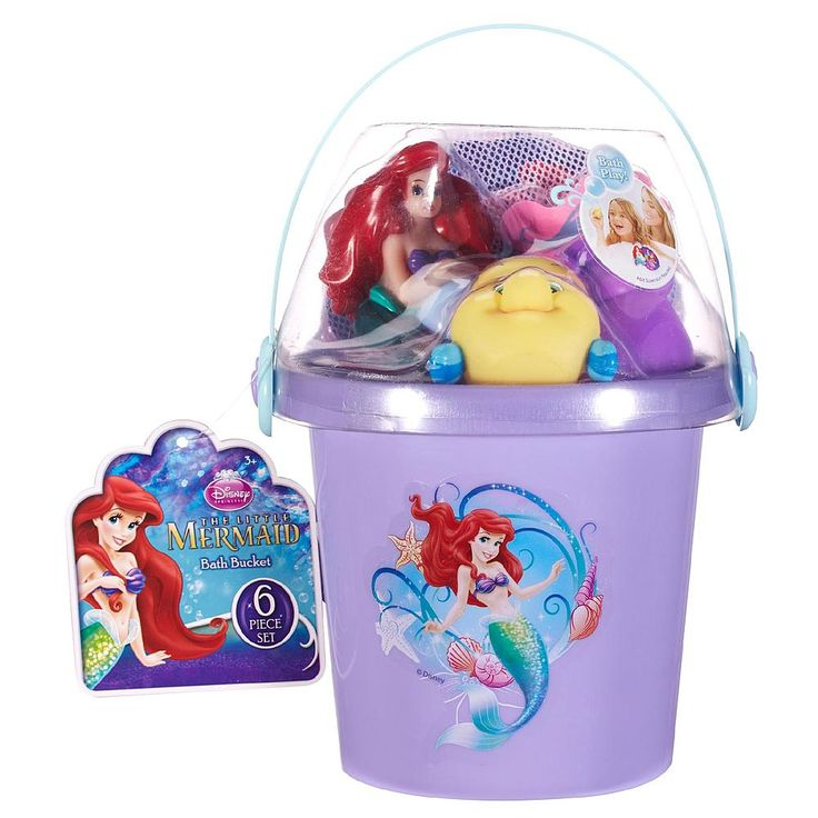 Disney The Little Mermaid Ariel's Below the Sea Bath Bucket - Toys & Games - Dolls & Accessories - Dollhouses & Playsets
