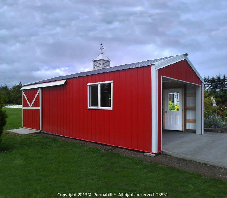 Monstore Garages Posts: Post Frame Building, Shop With Living