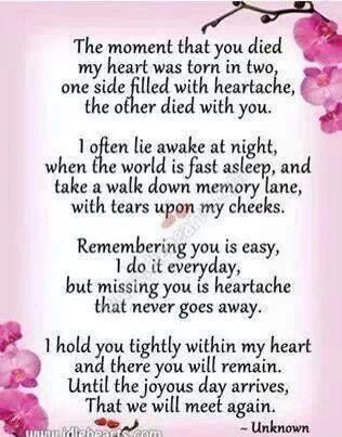 Pin By Anita Vasquez Centeno On Death Poems Quotes