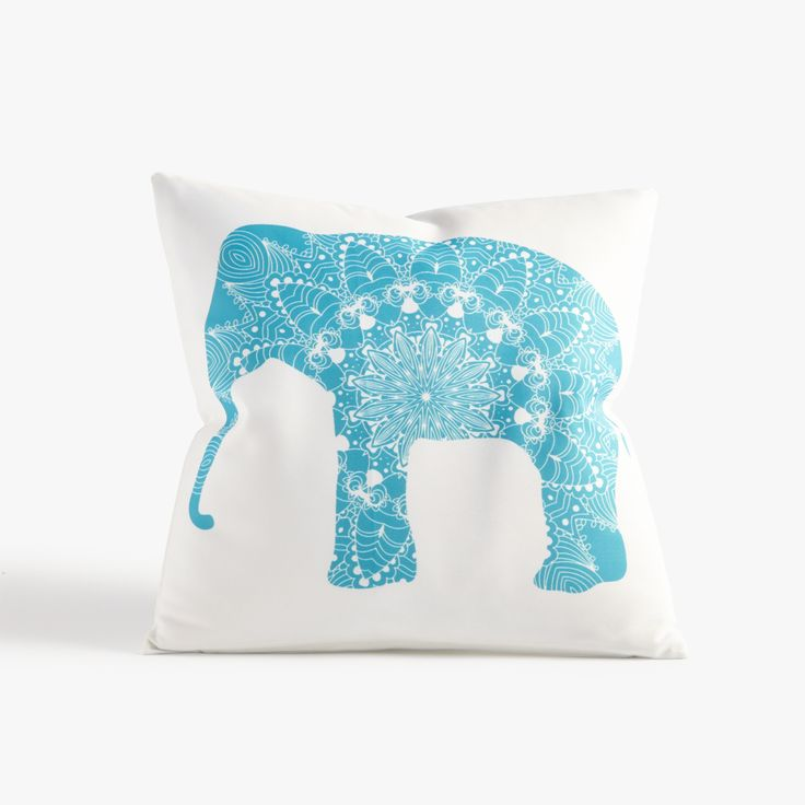 Throw Pillow Elephant : 25+ best ideas about Elephant throw pillow on Pinterest Pink throw pillows, Elephant ...