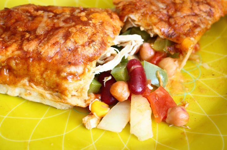 BonenBloggerTag: kip enchiladas met 'bonen erbij' - Francesca Kookt