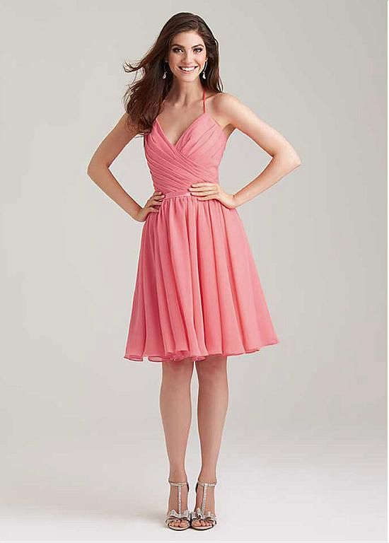 Cheap Chiffon Bridesmaid Dress Buy Quality Coral Dresses Directly From China Suppliers Sexy Short