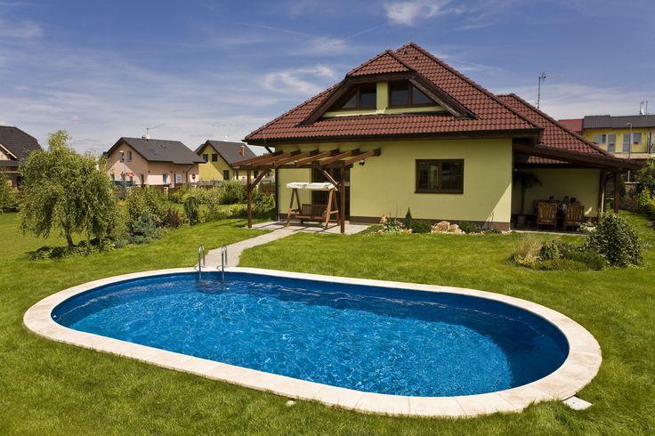 Preferujete nadzemní, nebo zapuštěné bazény? Pro celou rodinu se podle nás hodí zapuštěný, jako třeba ten na obrázku http://www.bazeny-mountfield.cz/bazeny/ibiza #Bazen #Zahrada