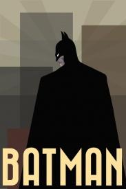 Batman Comic Book Poster