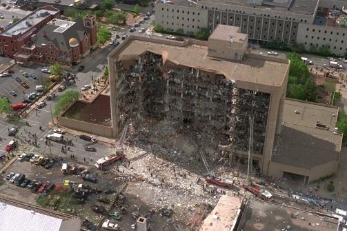 Oklahoma City Bombing- April 19, 1995.