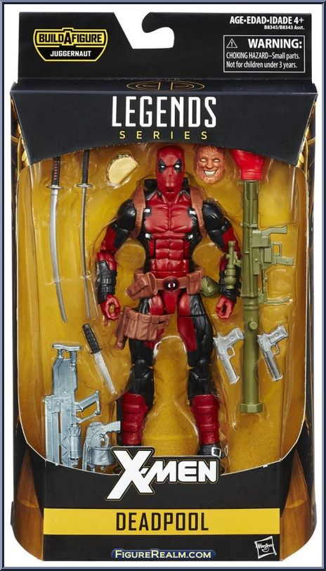 Deadpool from Marvel Legends - Infinite Series - Juggernaut Series manufactured by Hasbro [Front]