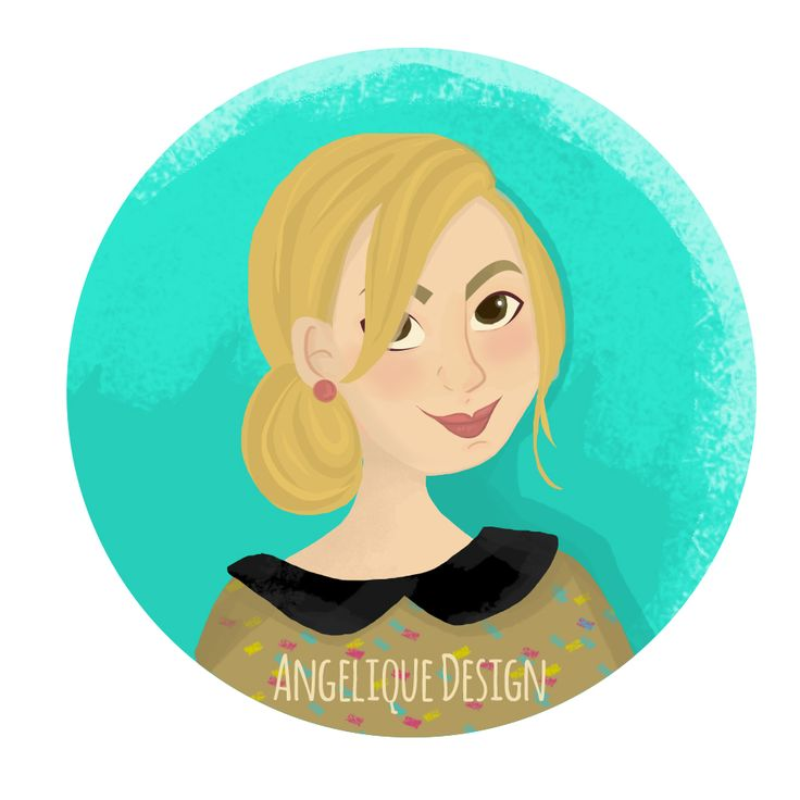 Autoportrait #angeliquedesign #blog