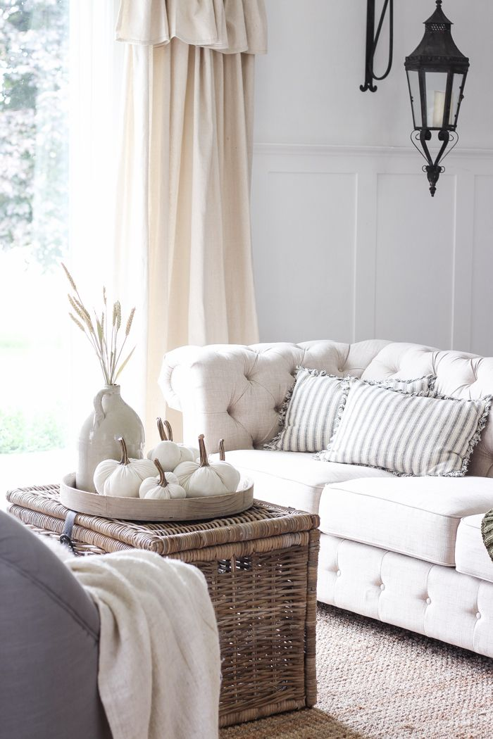 17 Best Ideas About Fall Living Room On Pinterest
