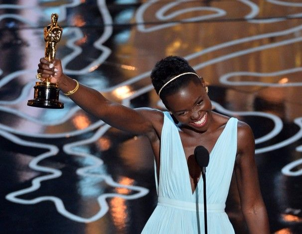 """""""When I look down at this golden statue, may it remind me and every little child that no matter where you're from, your dreams are valid."""""""