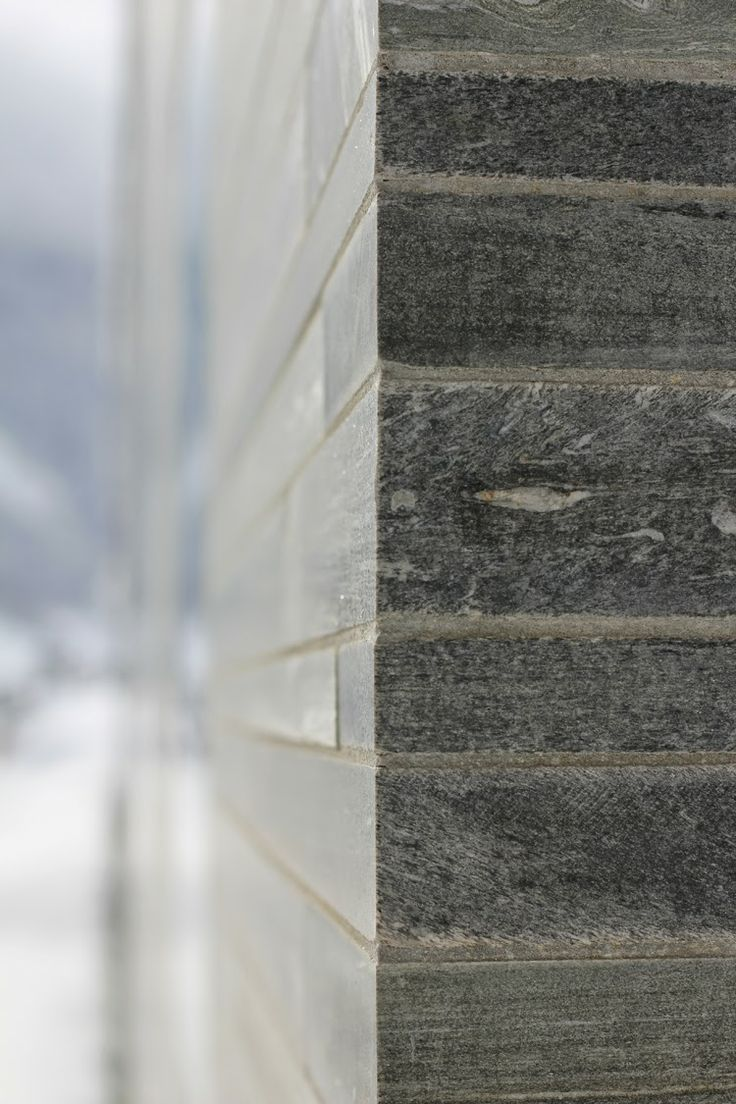 SWISS ALPS | VALS | THERMAL BATH | ZURICH | GNEIS | GRANITE NATURAL STONE |  Natural stone from the Vals area at the Thermal Bath Vals by Peter Zumthor