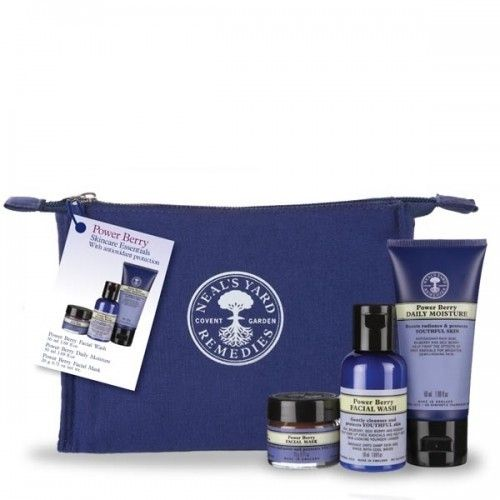 *Powerberry Essentials Kit*-For Youthful Skin-Protect youthful skin from ageing environmental aggressors and free radicals, with our blend of antioxidant-rich superberries and plant extracts, scientifically formulated to help keep skin looking younger, longer.-The perfect way to try a new skincare regime, and ideally sized for an overnight bag, our new Skincare Essentials are just that – the essentials to keep your complexion naturally radiant and glowing.