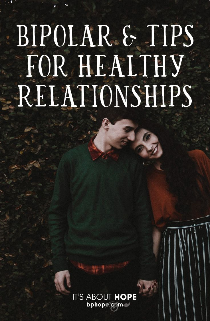 Building a strong relationship takes work. When one partner has bipolar disorder, thriving together takes a more focused effort. Here is what helps couples cope. http://www.bphope.com/the-sweethearts-deal-how-to-keep-your-relationship-healthy/