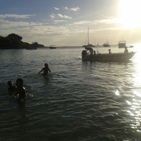Sunset fishing in Mauritius https://m.facebook.com/pecheauxgros.ilemaurice