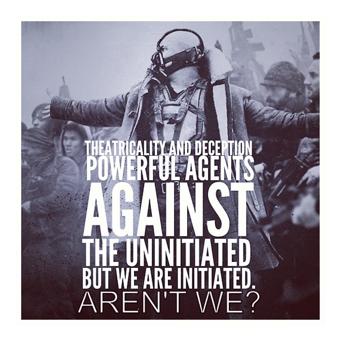 My favorite Bane quote