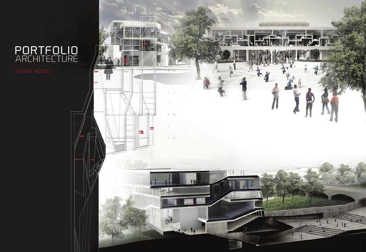 architecture portfolio fouad addou