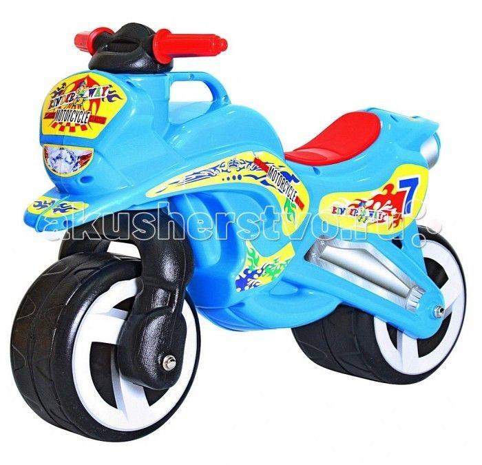 Каталка R-Toys Motorcycle 7Motorcycle 7Первый беговел для малышей. Яркий дизайн и аэродинамические формы этого беговела оценят стильные родителям и их дети. Благодаря своей удобной конструкции кататься на этой каталке смогут даже самые маленькие дети от 18 месяцев. Польза беговелов для детей давно доказана. Каждый малыш от 18 месяцев должен начинать знакомиться с транспортом со своего первого беговела. Езда на беговеле позволит малышам получить первые навыки управления транспортом. Широкие…