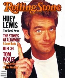 Huey Lewis ~ September 13, 1984