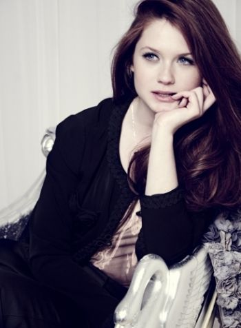Ginny Weasley.. remember when she ended up marrying harry and it was really awkward?
