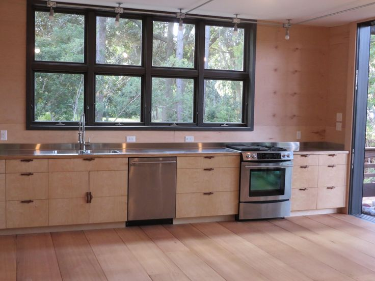 Stainless steel laminated to baltic birch  WOODWEBs