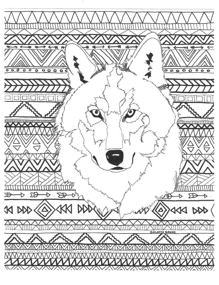 Wolf Coloring Pages For Adults Best Coloring Pages For Kids Horse Coloring Pages Coloring Pages Pattern Coloring Pages