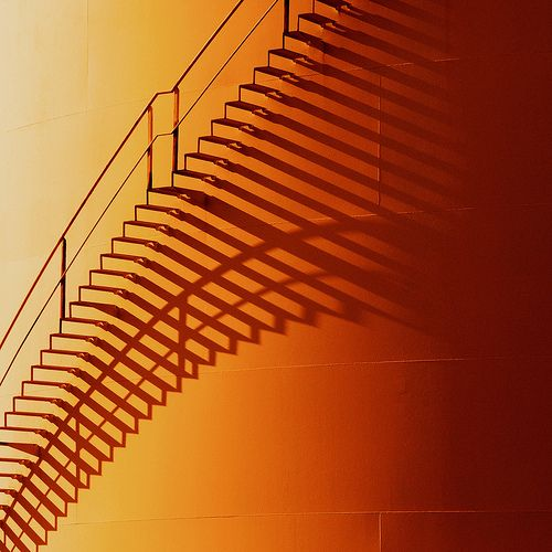 Shadow Gap Staircase Lighting: Curved Shadow. I Don't Know Whether The Placing Of The