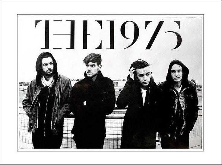 "011 THE 1975 - Matthew Healy Ross Adam Hann George Daniel 19""x14"" Poster"