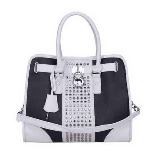 new fashion Michael Kors Hamilton Center-Stripe Studded Large Black White To0 deal online, save up to 90% off hunting for limited offer, no tax and free shipping.#handbags #design #totebag #fashionbag #shoppingbag #womenbag #womensfashion #luxurydesign #luxurybag #michaelkors #handbagsale #michaelkorshandbags #totebag #shoppingbag