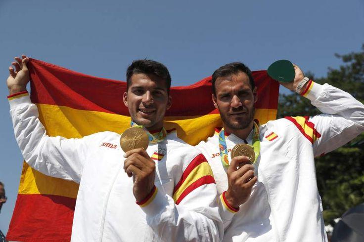 Toro y Craviotto, en el podio olímpico de Río 2016 - Los triunfadores de Río…
